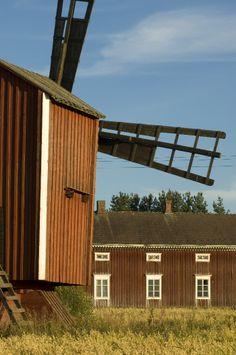 Windmill Komsi, Teuva Finland - photo Heikki Mahlamäki Saint Marin, Other Countries, Windmills, Europe, Outdoor Decor, Artist, Pictures, Albania, Bulgaria