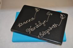 Personalized Name/ Customized wire bookmark by CraftsLaughsbyME
