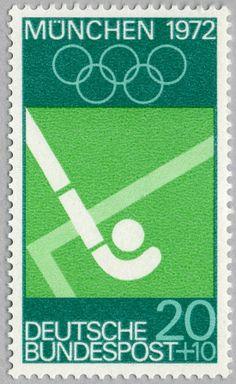 Munich 1972 stamps – via Present & Correct