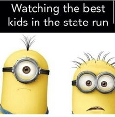 Funny running pictures! Minions , running quotes, track cross country