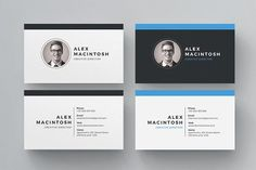 Business Card Templates Clean multipurpose business card template Ideal for personal identity. This super clean design has b by ThemeDevisers Business Card Maker, Cool Business Cards, Business Card Logo, Business Card Design, Business Company, Creative Business, Web Design, Page Design, Resume Words