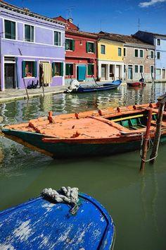 Burano, Province of Venezia , Veneto region Italy