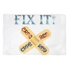 CRPS RSD Fix IT Band-Aid awareness Fire & Ic Scarf