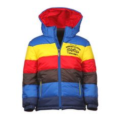 Kleurvolle Salty Dod kinder winterjas voor jongens. Je valt op, bent stoer en trendy met deze mooie dikke jas. www.kienk.nl kinderkleding