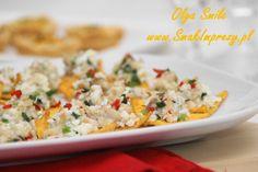 Nachos z makrelą - przepis Nachos, Fried Rice, Fries, Smile, Ethnic Recipes, Food, Essen, Meals, Tortilla Chips