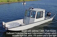 SEA ARK Cabin GREAT COLD WX BOAT!