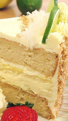 Key Lime Margarita Cheesecake Cake
