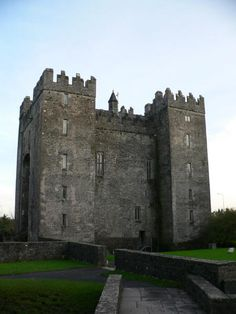 Bunratty Castle..right across the street from Durty Nelly's