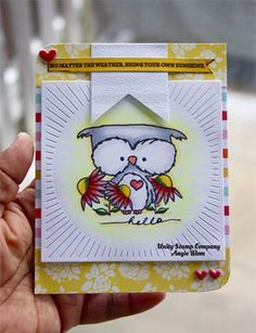 Image result for Unity Stamps cards owl