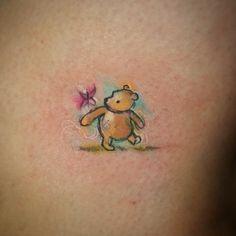 Fun tiny little watercolor jammer today #winniethepoohtattoo #winnie #poohbear #waterc... | Use Instagram online! Websta is the Best Instagram Web Viewer!