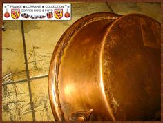 French Copper Tourtière, beautiful handmade work part 10