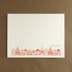 Village Personal Stationery | egg press