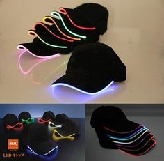 New Top Fantastic Glow LED Light up BaseBall Hat,Unisex Baseball Cap Hat with Headlamp,Mutil-color LED Night party flashing Caps Neon Birthday, 15th Birthday, Party Outfit Night Club, Sparkle Party, Star Wars Kids, Glow Party, Kids Party Games, Sweet 16 Parties, Ideas Para Fiestas