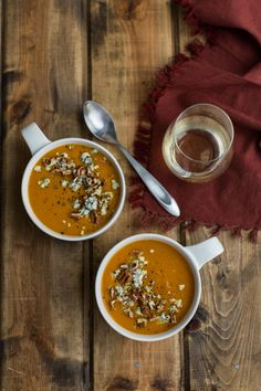 smoked paprika sweet potato soup!