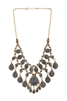 Natalie B Jewelry Cassidy Necklace in Slate #REVOLVEclothing