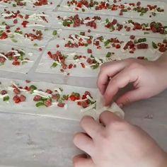 """2,019 Beğenme, 92 Yorum - Instagram'da Sevim Bekgöz (@mutfagiseviyorum): """"Hayırlı geceler nefis çok pratik ve lezzetli çıtır çıtır bir börek tarifi istemiyiz yapıp…"""" Pastry Recipes, Baking Recipes, Healthy Recipes, Bite Size Food, Turkish Delight, Turkish Recipes, Creative Food, Beautiful Cakes, Diy And Crafts"""