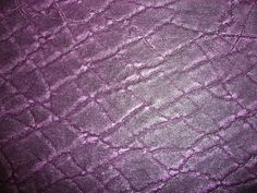 """LEATHER 15""""x15"""" or 12""""x20"""" or +++ Purple  ELEPHANT Embossed Cowhide Leather Hide 3 oz/1.2 mm PeggySueAlso"""