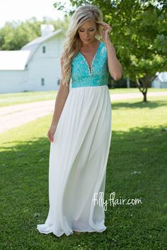 You'll look beautiful in this dress at the homecoming dance.
