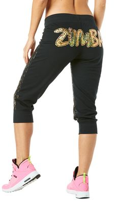 Lost In The Music Capri Pants. Tenue ZumbaLogo ... dcafec8ff80
