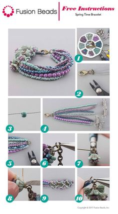 Spring Time Bracelet Inspiration Project