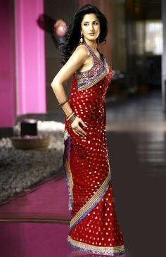 Beautiful  Katrina Kaif in Saree
