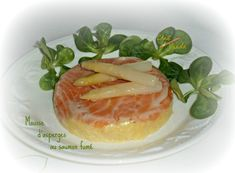 Mousse d'asperges au saumon fumé - Chez Vanda Best Appetizers, Appetizer Recipes, Chutney, Chili Burger, Tart Recipes, Healthy Recipes, Chez Vanda, Mushroom Curry, Curry Stew