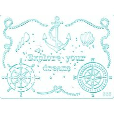 Mit dieser sommerlichen Schablone kann man ganz leicht und schnell tolle Dekorationen schaffen. Arabic Calligraphy, Art, Stencils, Products, Amazing, Patterns, Dekoration, Crafting, Art Background