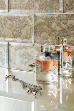 Antique Mirror Tile