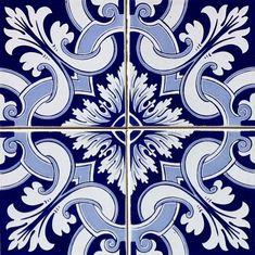 Kit de Azulejos : AZ096 | Arabesco Design | 362FBD - Elo7