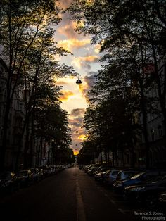 Sunset in Hannover