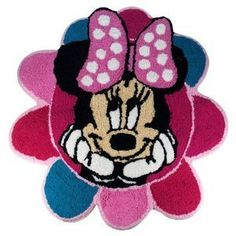 Disney Minnie Mouse Flower Bath Rug Pink Bathroom Mat Girls *** Read more reviews of the product by visiting the link on the image.