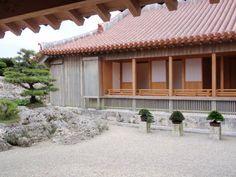continues to strive to combine strong traditional craftsmanship with modern technology making them pioneers of an established field of the roofing industry. Japanese Hot Springs, Japanese Architecture, Garden Stones, Traditional House, Wood Art, Pergola, Outdoor Structures, Outdoor Decor, Modern