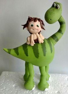 Dinosaur Crafts, Dinosaur Cake, Dinosaur Birthday, Arlo Und Spot, How To Make Clay, Clay Dragon, Polymer Clay Animals, The Good Dinosaur, Clay Figurine