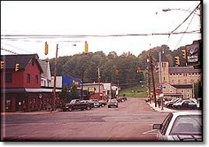 THE traffic light in Dushore, PA.  The ONLY traffic light in all of Sullivan County.