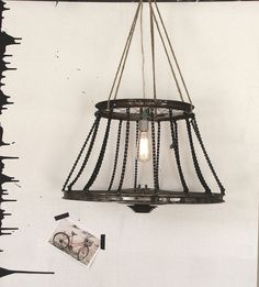 Bicycle Chandelier - I want to ride my bicycle or at least have a cool Bicycle Chandelier made from repurposed bike parts by a Texas artist. www.themodbohemian.com/bicycle-chandelier/)