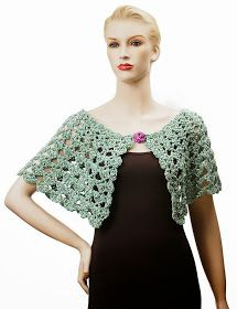 Serena Crocheted Capelet and Collarlet Patterns