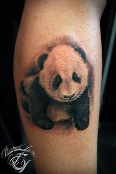 tattoos panda bamboo   Panda Bears Tattoos