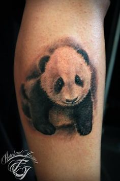 tattoos panda bamboo | Panda Bears Tattoos