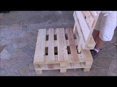 Assembly armchair in pallet Reste Möbel diy pallet creations Pallet Furniture Armchair assembly Creations DIY diypallet Möbel Pallet Reste Pallet Lounge, Diy Pallet Sofa, Diy Pallet Projects, Pallet Ideas, Pallet Chairs, Pallet Couch Outdoor, Pallet Garden Furniture, Outdoor Furniture Plans, Diy Furniture