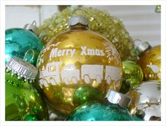#Vintage #Holiday #Christmas decor.Fox Hollow Cottage