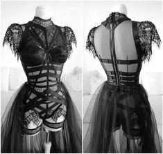 Dark Fashion, Gothic Fashion, Boho Fashion, Womens Fashion, Petite Fashion, French Fashion, Style Fashion, Edgy Outfits, Cute Outfits