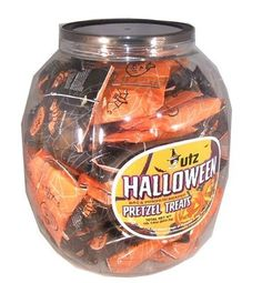 Utz Pretzel Treats 70 Count 5 Oz by is available at wholesale price. , UPC 4718000294 , is one of our most popular items in Halloween Candy . Halloween Pretzels, Halloween Candy, Halloween Ideas, Pretzel Treats, Caramel Apples, Favorite Holiday, Trick Or Treat, Candle Jars