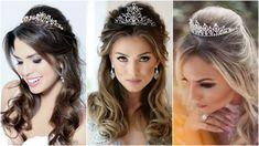 chegoua-a-hora-a-selecao-penteado-de-princesa-solto Evening Hairstyles, Tiara Hairstyles, Wedding Hairstyles, Hairdo Wedding, Private Parts, Natural Remedies, Marie, Braids, Hair Styles