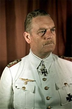 """✠ Wilhelm Keitel September 1882 – 16 October Hanged as a war criminal. 2868 / GFM, Chef des OKW Romanian Order of Michael the Brave, and Classes (Orden """"Michael der Tapfere"""" II. Wilhelm Keitel, Luftwaffe, Afrika Korps, Germany Ww2, The Third Reich, World War One, German Army, Panzer, Wwii"""