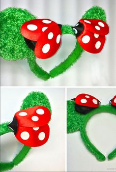 Here are some spring time inspired ears from the Epcot Flower and Garden Festival. http://di.sn/cAw