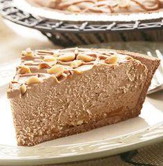 Recipe For Easy Peanut Butter Chocolate Cheesecake Pie