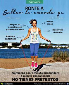 Hábitos Health Coaching | Ponte a saltar la cuerda y …..
