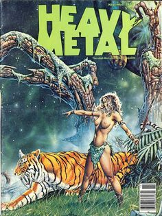 Post with 186 votes and 7617 views. Shared by Heavy Metal Magazine Covers & Artwork Fantasy Art Women, Dark Fantasy Art, Fantasy Artwork, Heavy Metal Comic, Heavy Metal Girl, Heavy Metal Bands, Pulp Fiction Art, Pulp Art, Metal Magazine