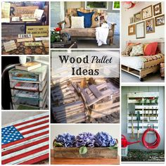 I LOVE the casual and frugal look that pallet projects give to the home. These inspiring DIY Wood Pallet Project will make you run to your nearest dumpster.
