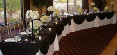 Head Table Designs   Now here are some examples of sweetheart tables! Check these out and ...